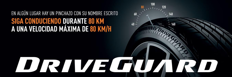 Publicidad Neumáticos DriveGuard