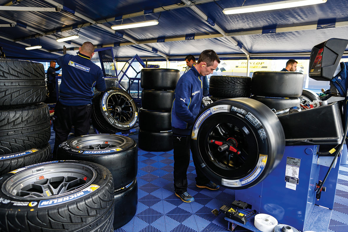 Michelin en Le Mans